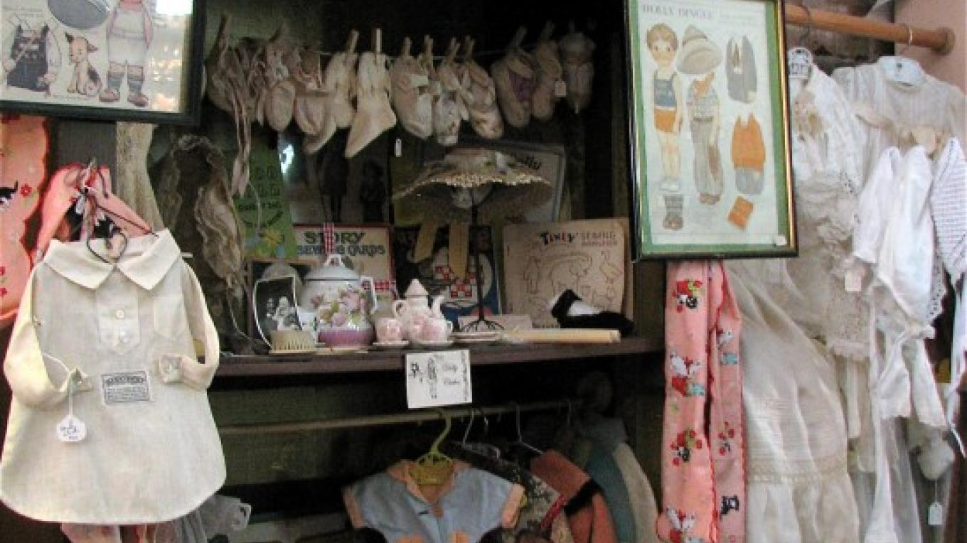 The children's items provide a wonderful glimpse into the past. – Karrie Lindsay