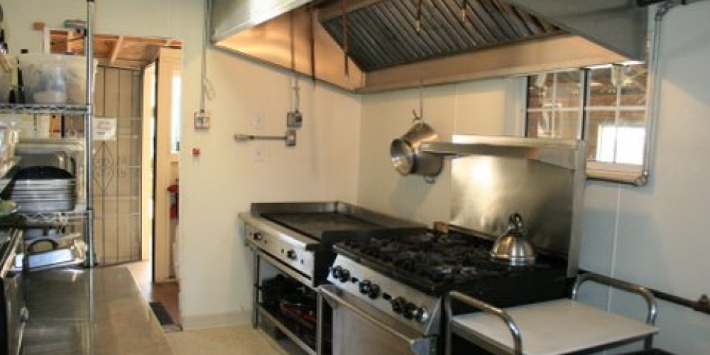 Professionally Equipped Lodge Kitchen