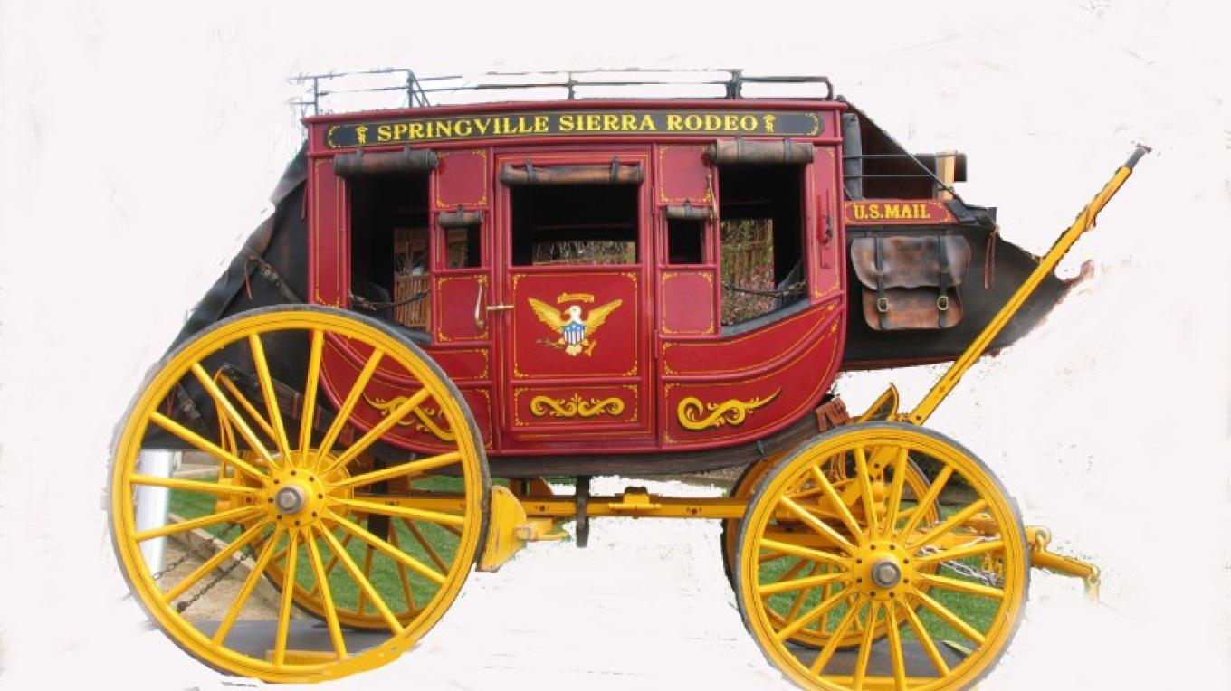 Rodeo Stagecoach – MM Jr.