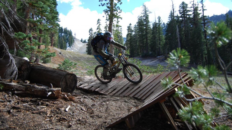 Ricochet Trail, Mammoth Mountain Bike Park – Sarah McCahill