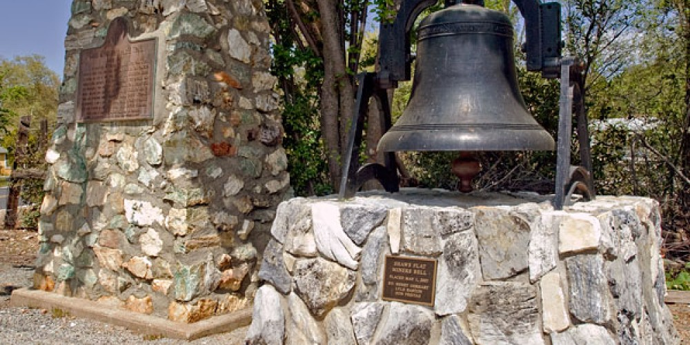 The dinner bell rang to call men to work and announce the convening of court. – Noehill.com