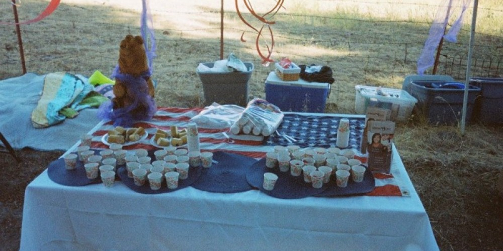 Pick your favorite aid station. – Running with the Bears