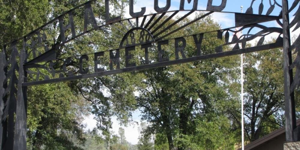Halcumb Cemetery on Highway 299. – Ben Miles
