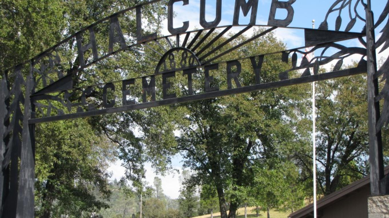 Halcumb Cemetery on Highway 299. – Ben Miles