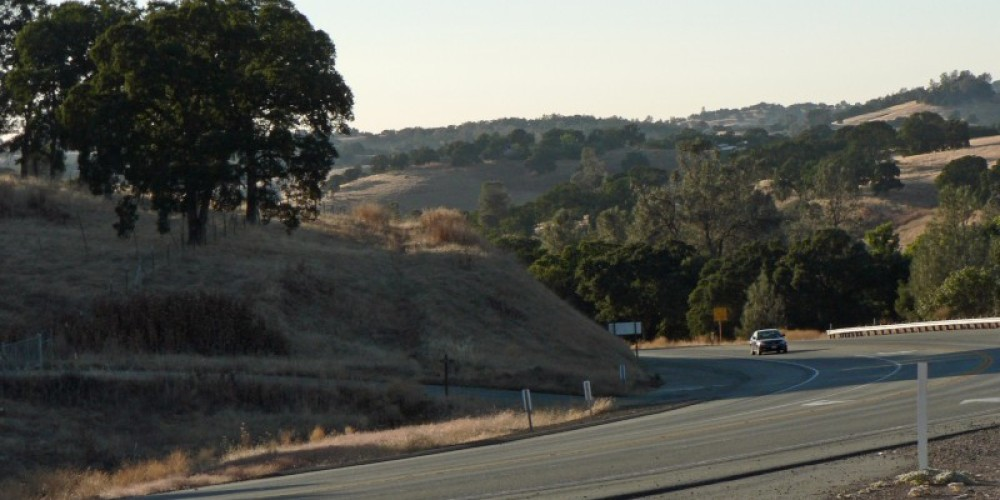 Winding your way around the Golden Chain Highway in Amador County. – Rebecca Brown