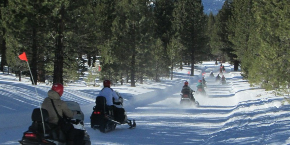 Back country Tour near Mono Craters – DJ's Snowmobile Adventures, Inc.