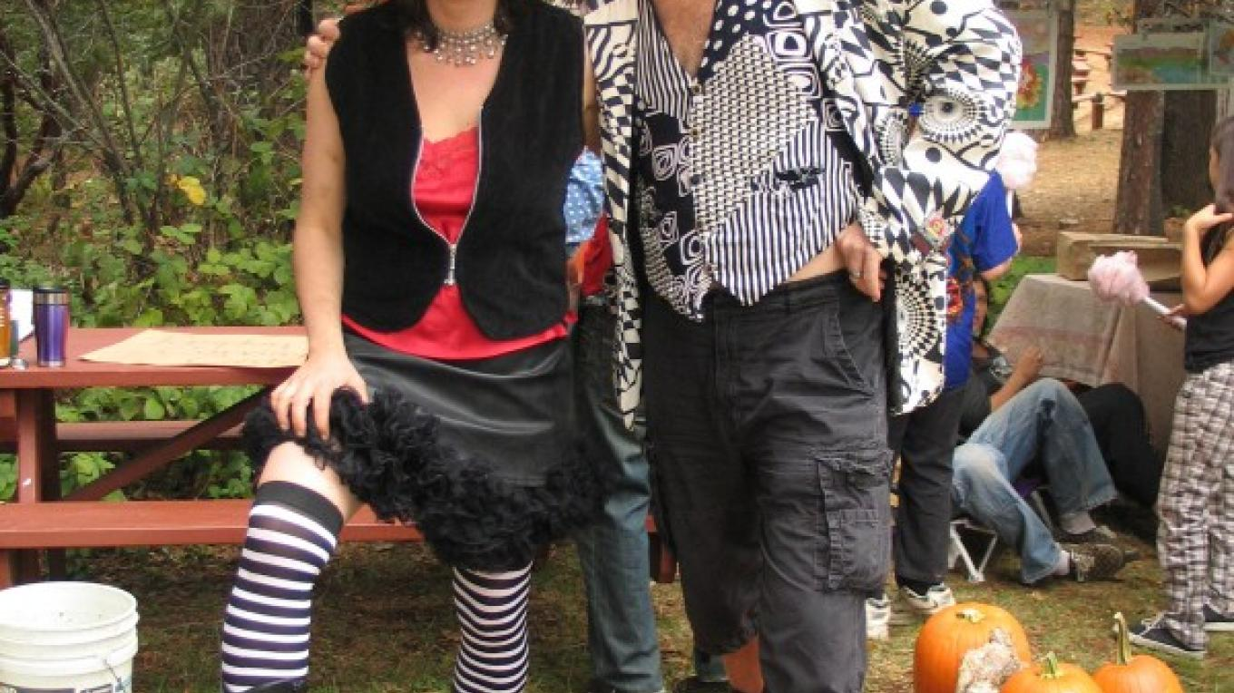 Costumes and games abound at the Shindig.