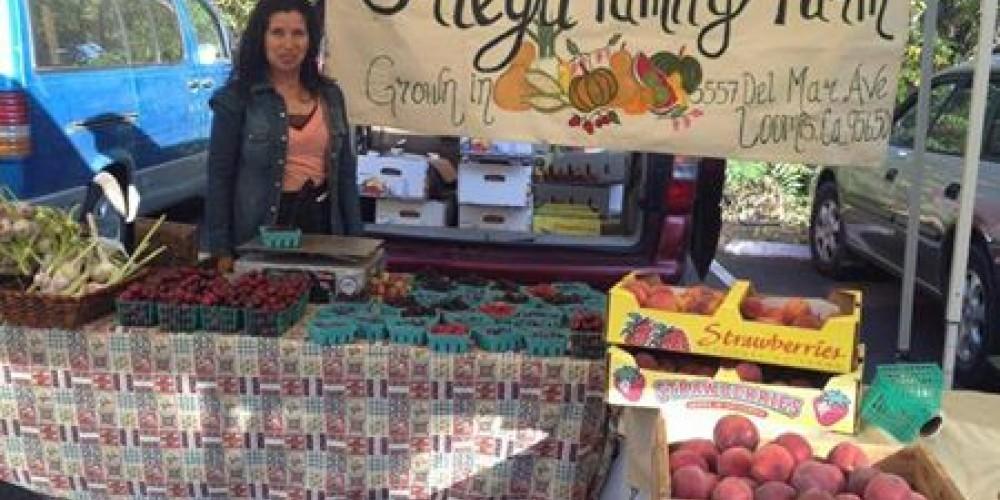 Alicia Ortega of Ortega Family Farm is a favorite of the Auburn Old Town Farmers' Market. – Foothill Farmers Market