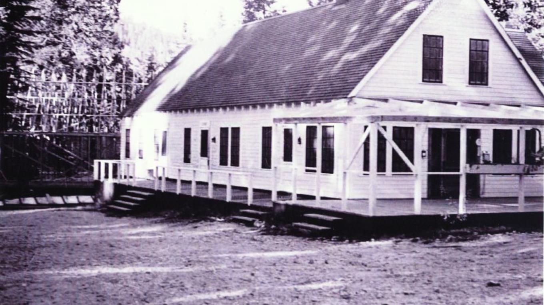 1930's when Eckert Lodge was rebuilt by community