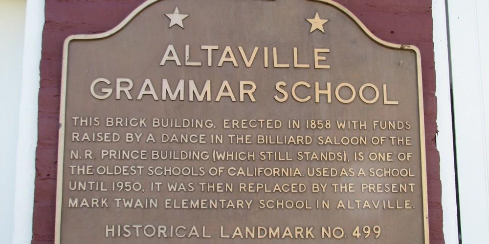 State Historic Landmark Plaque – B Rogers
