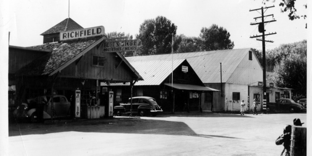 James Store, Post Office, Barber Shop, Pool Hall; circa 1946 – unknown
