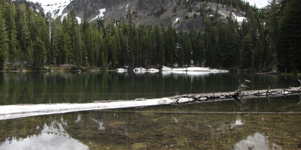 Peak reflected in Magee Lake. – Ben Miles