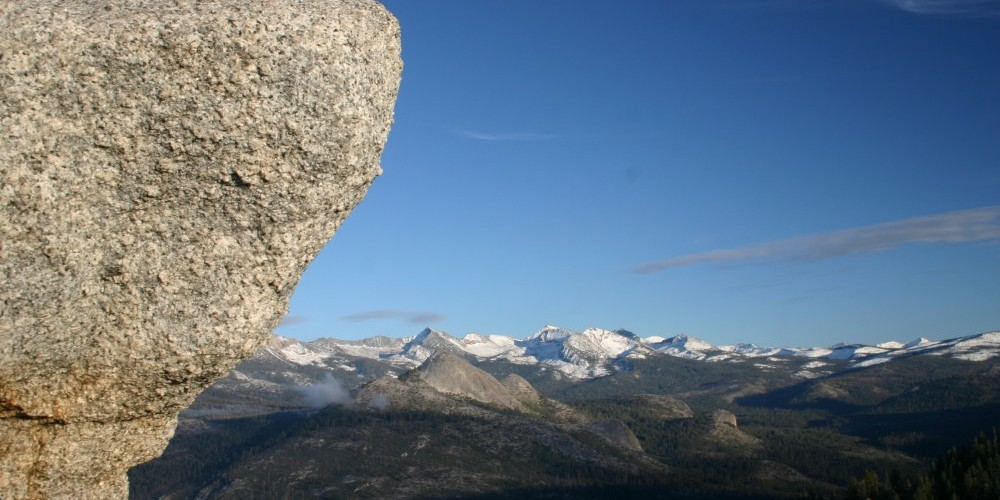 Eastern Sierra Nevada Range from Sentinel Dome – Pat Althizer