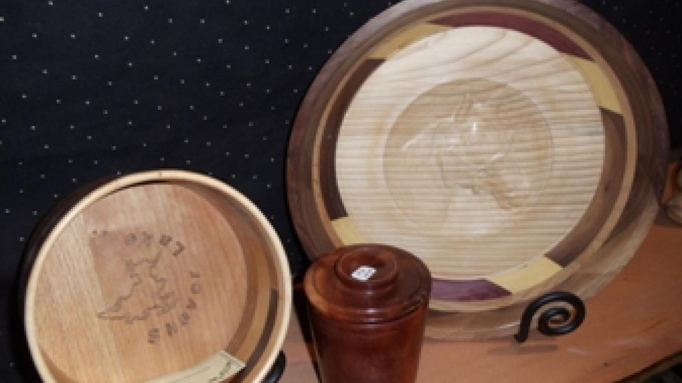 wood turnings – Darlene Meissner
