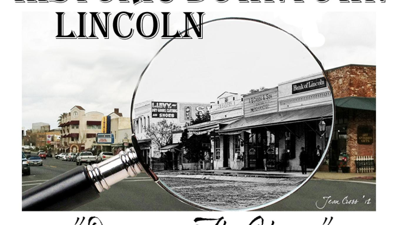 Historic Downtown Lincoln is alive and welcomes visitors, shoppers and diners to enjoy this great little town full of history! – photo art by Jean Cross