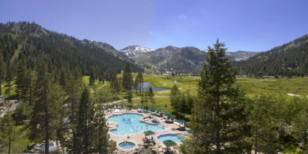 Summer at Resort at Squaw Creek.