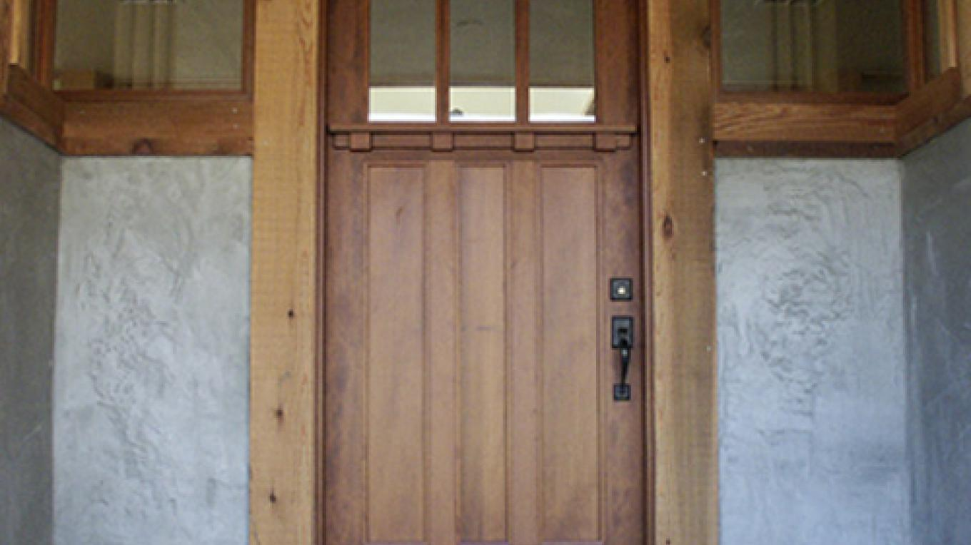 Arts and Crafts Front Door and Entry Way – martha widmann