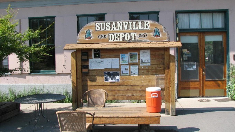 Restored Susanville Rail road Depot – l.hansen