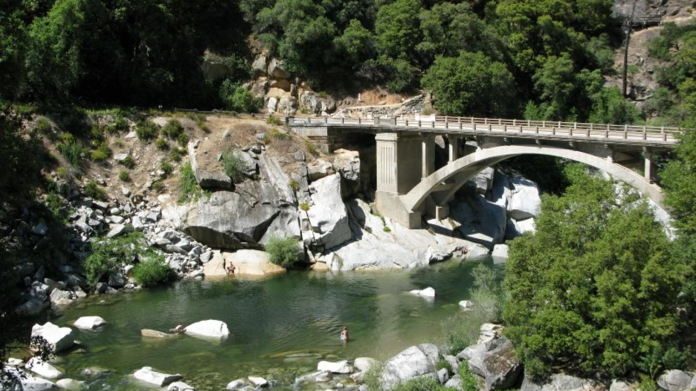 Old Hwy 49 bridge over the South Yuba River – Linda Chaplin
