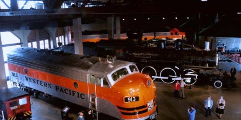 California State Railroad Museum is a wonderful family tradition no matter what the weather! – California State Railroad Museum