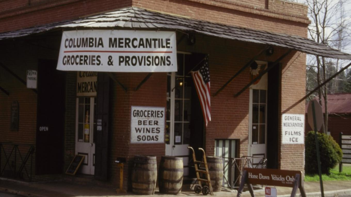 Columbia Mercantile – Courtesy, Columbia State Historic Park