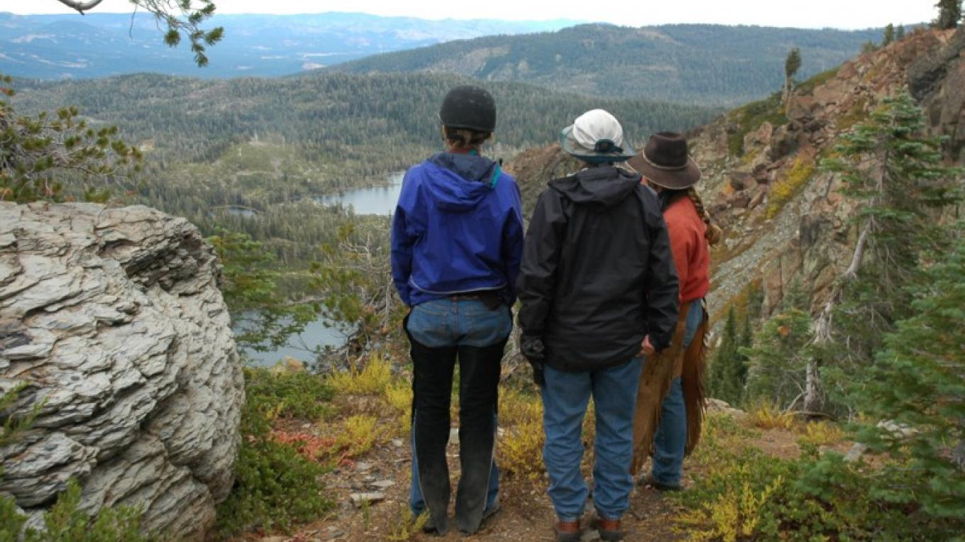 Overlooking the Lakes Basin – Mary Davey