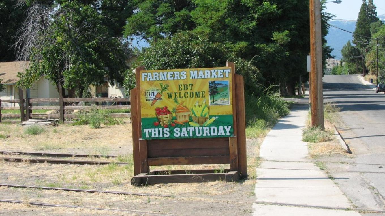 Saturday Farmer's Marlet during the summer months. – lhansen