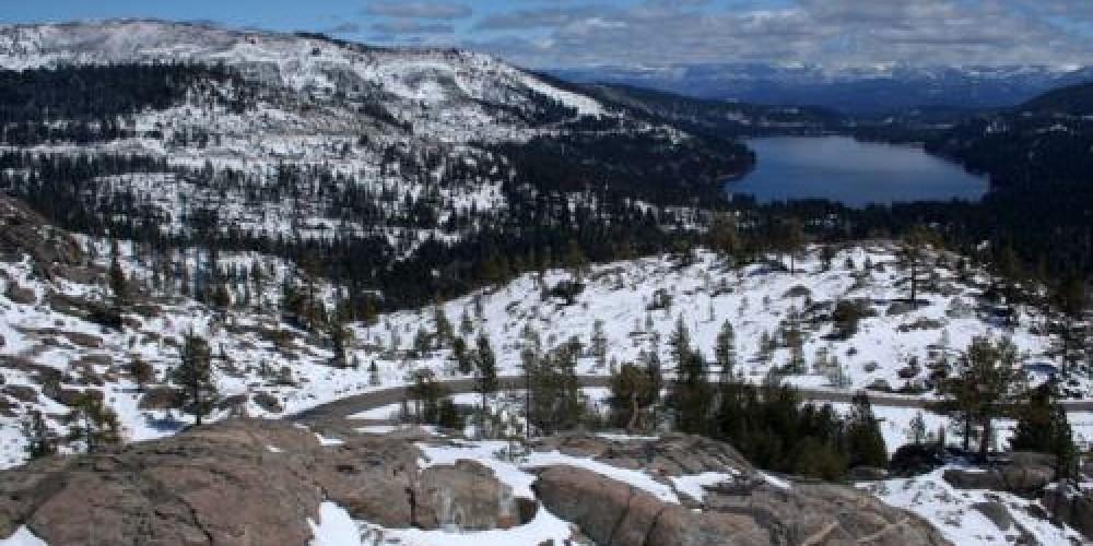 Donner Lake below the summit – www.alllaketaho.com