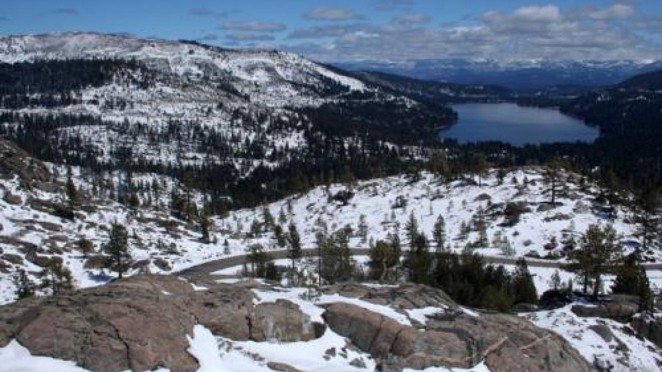 Donner Lake below the summit – www.alllaketaho.com