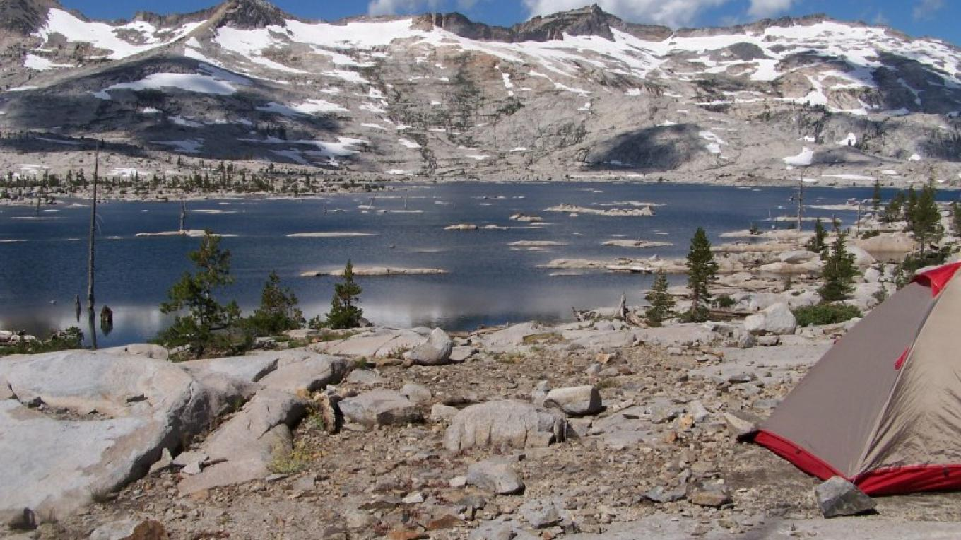 Aloha Lake is the largest alpine lake in Desolation Wilderness. – Katie Dickinson
