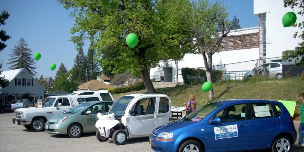 Alternative energy efficient Car Show – Caroline Hickson