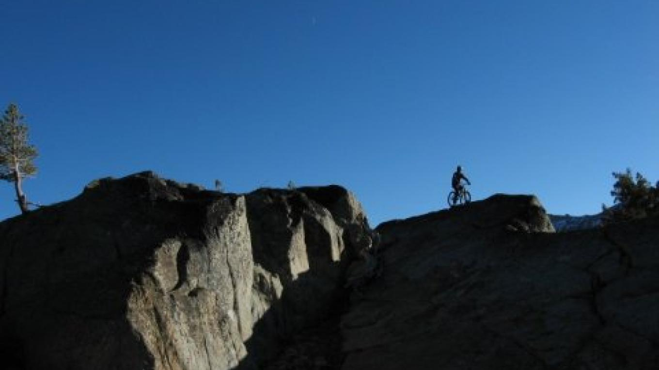 Gary Bell of Sierra Ski and Cycle Works above Kirkwood Mountain Resort. – www.SierraSkiandCycleWorks.com
