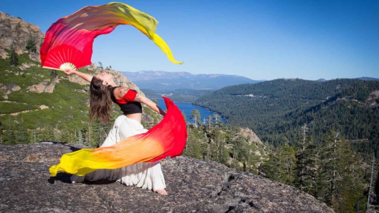 Tahoe Flow artist performing on Donner Summit, Truckee, CA – Jeff Engerbretson