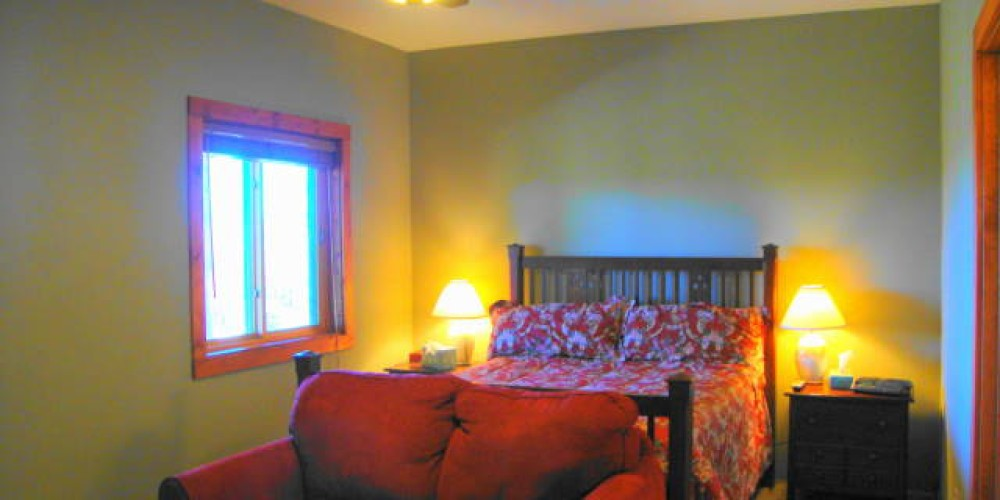 Lower West Bedroom in main house – CK Martin