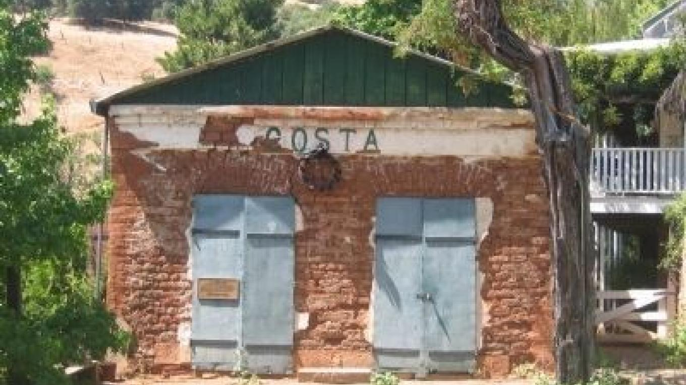 The remains of the Luigi Costa Store that has been preserved by the descendants of the Costa family. – Syd White/hmdb.com