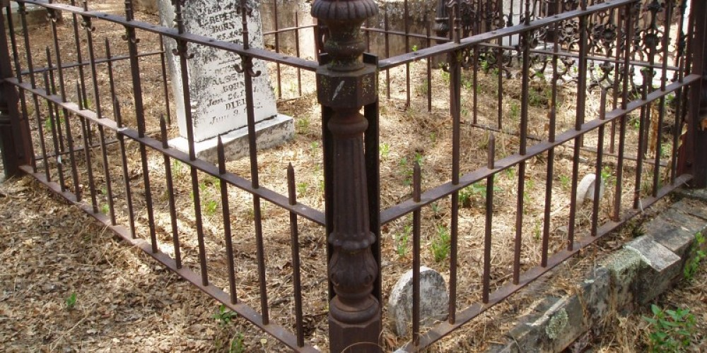 Coulterville Cemetery George Coulter and many other founding membbers of the town are buried in this historic cemetery that is still in use today. – Dale Silverman