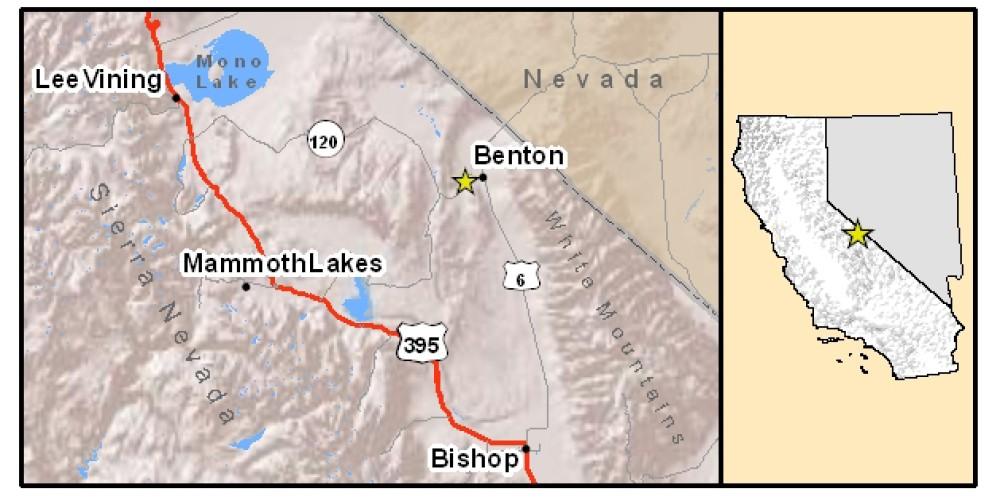 Location Map – Aaron Johnson, ESRI software