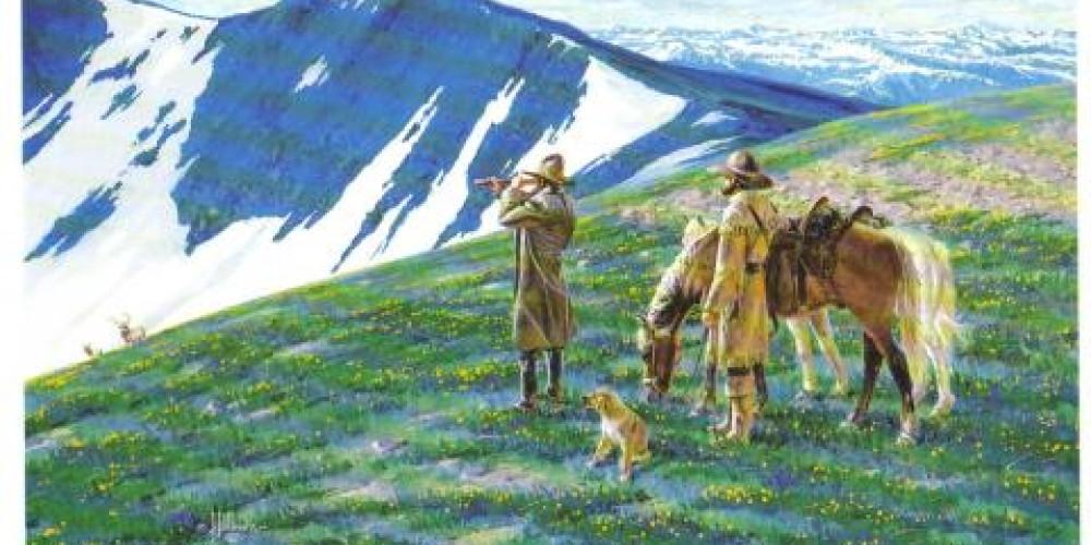John C. Fremont Expedition art – grandcountyhistory.com