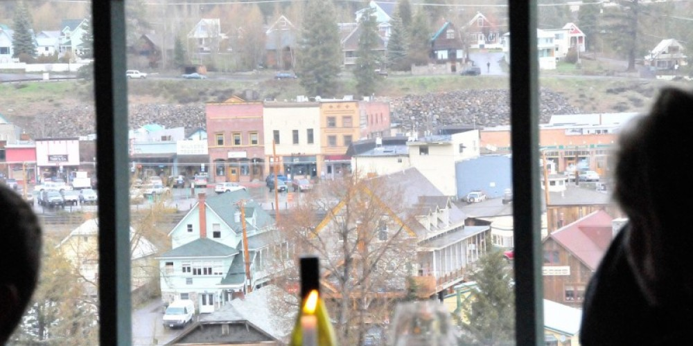 Cottonwood overlooks historic downtown Truckee, a view that gets better with the dimming of the day. – Matt Chappell