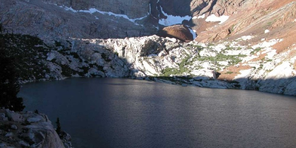 View of Lower Franklin Lake – NPS