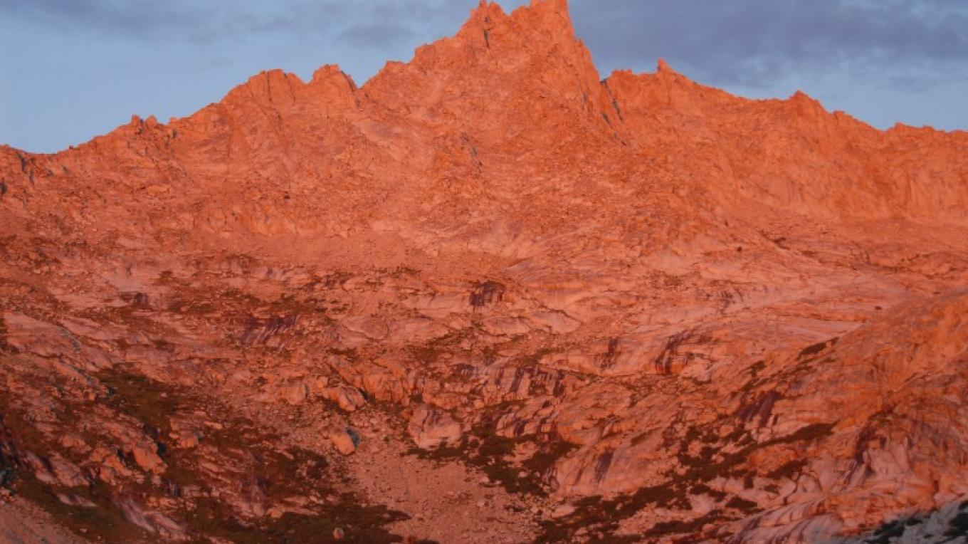 Alpenglow is the evening attraction each summer in Mineral King. – The Kaweah Commonwealth