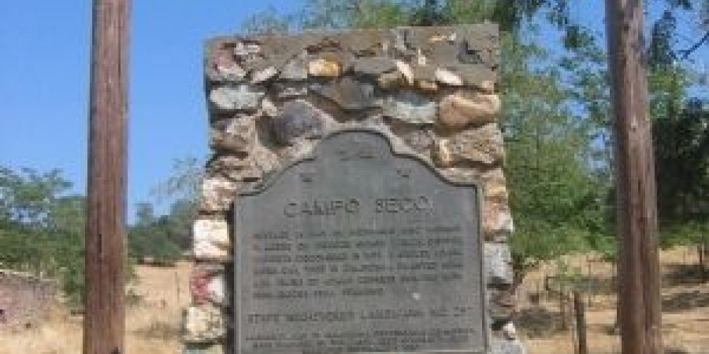 Campo Seco Landmark – Historical Marker Database