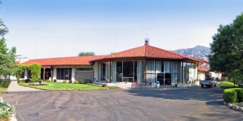 panoramic view of the retreat center
