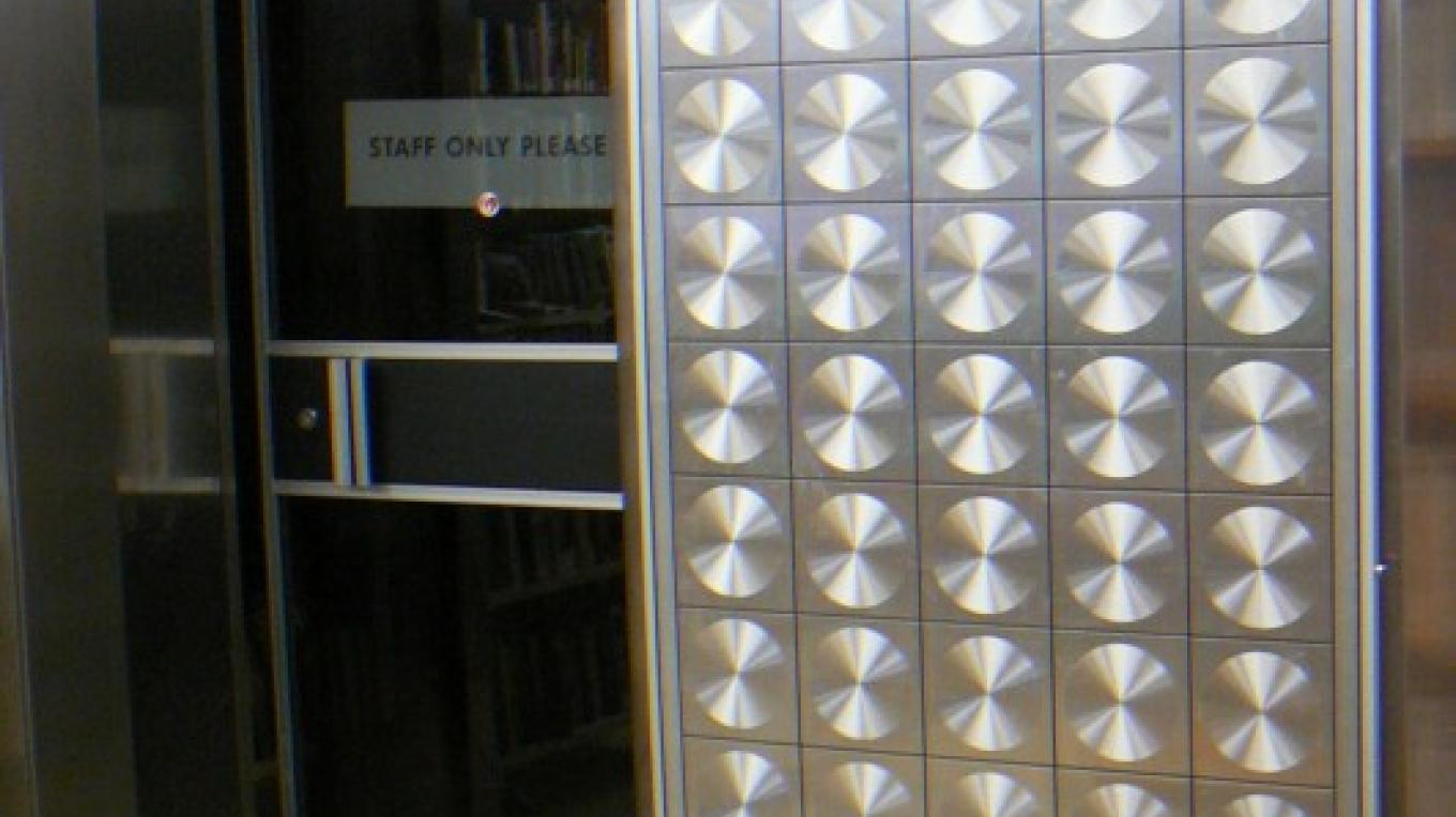 Library originally was the bank this is the vault – Susan Leeper