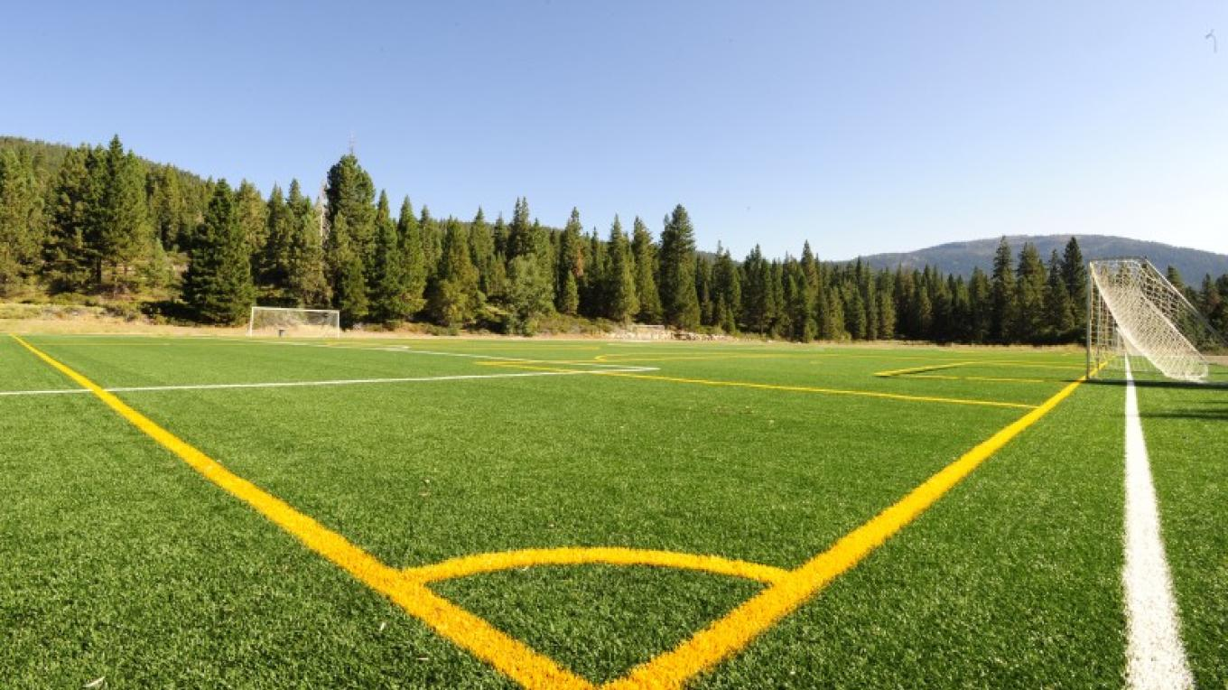 The all weather soccer field has been a great new addition to the Park. – Court Leve