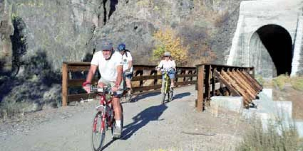 A trail for all seasons for bikers, equestrians and hikers. – BLM Eagle Lake Susanville