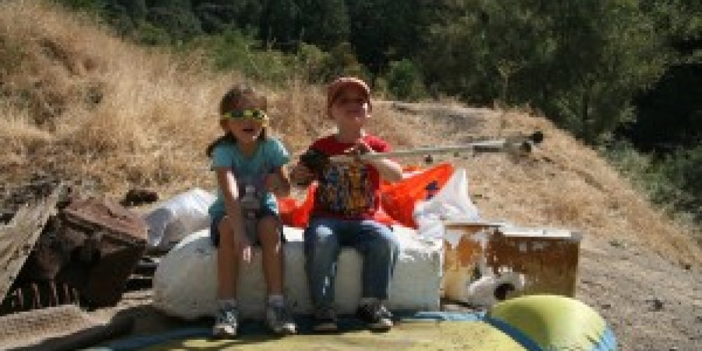 Yuba River Cleanup Day 2009