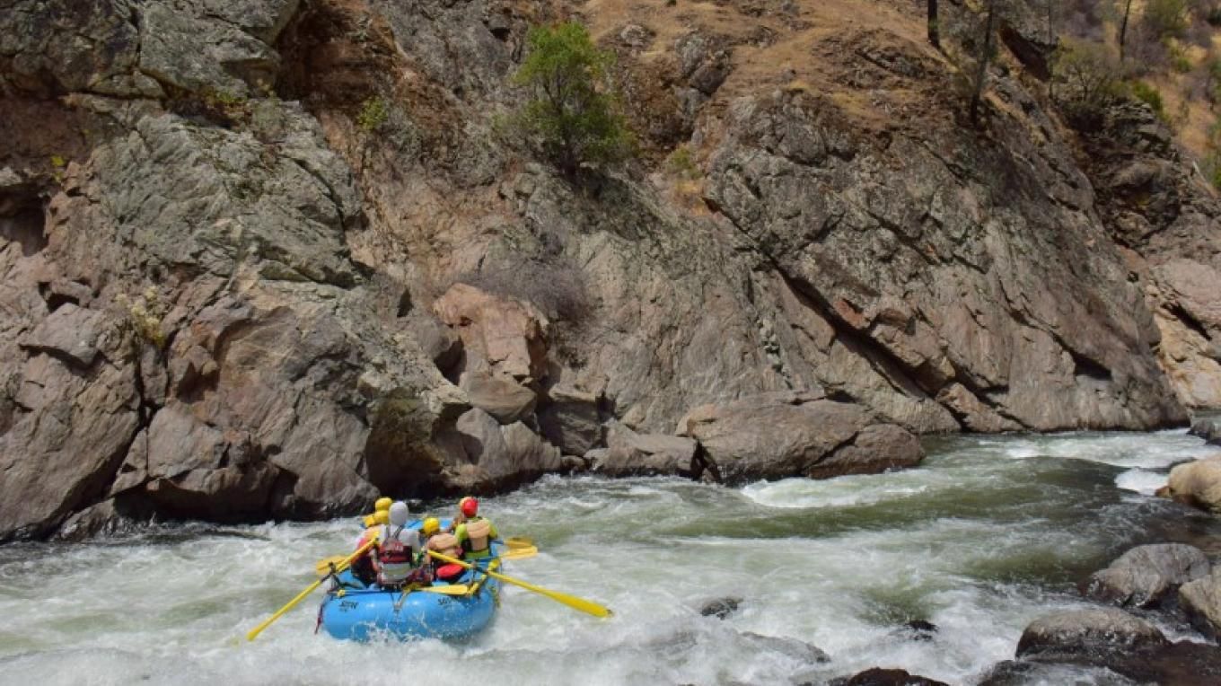 Clavey Falls Rapid on the Main Tuolumne – Picture This - Rapid Shooter