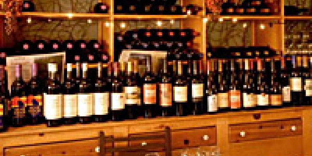 The wine bar at Sorensen's – Sorensen's Resort