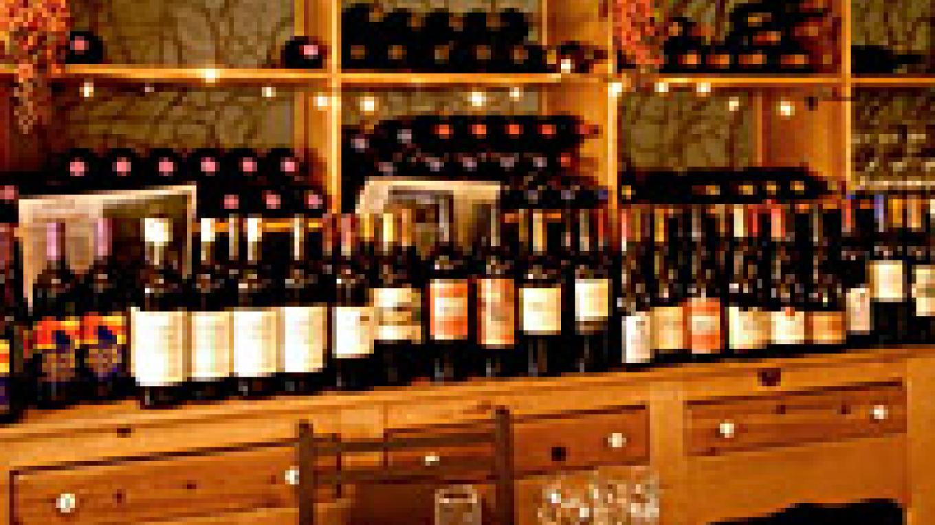 The wine bar at Sorensen's – Sorensen's Resort